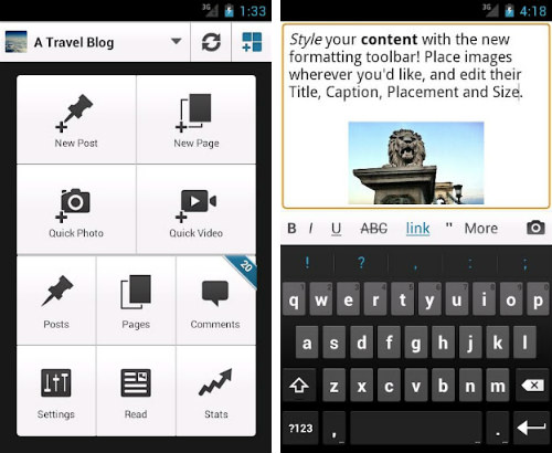 Making Smartphone and Tablet Apps Useful for Bloggers